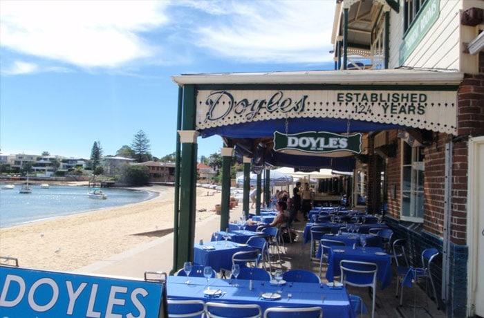 Fish and Chips at Doyles, Watsons Bay