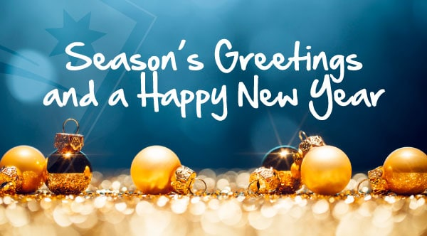 RWCT Closed from 23rd of December 2019 til 1st of January 2020